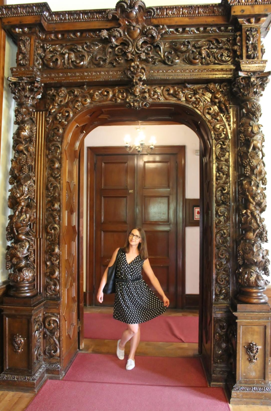pałac w Mosznej drzwi