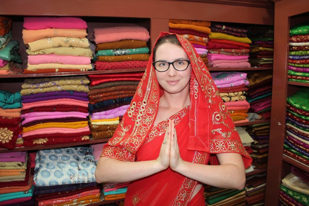 sri lanka sari